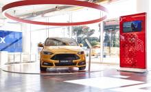 Bilbutikken AS starter som Ford-forhandler i Drammen og etablerer fullverdig FordStore i sitt anlegg på Gulskogen.