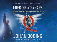 "Lifeline och ER-Music presenterar ""Freddie 70 Years"" på Rival i Stockholm"