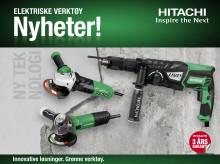 Høstnyheter - Hitachi elektroverktøy