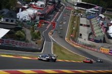Simon Larsson klassvinnare i Super Trofeo på Spa