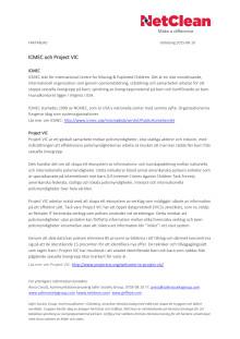 Faktablad - ICMEC och Project VIC