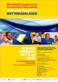 Move & Walk på 8:e världskongressen för konduktiv pedagogik