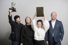 Virkkunen & Co wins the first VUODEN METALLIJULKISIVU with the Kalasatama Electricity Substation.