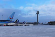 Flytrafikken økte 2,1 prosent i januar