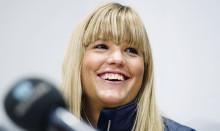 Anna Holmlund vårdas på Karolinska Universitetssjukhuset