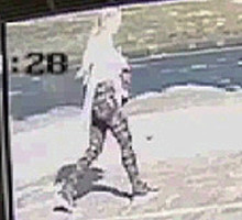 Lucy McHugh murder: CCTV images of first confirmed sighting