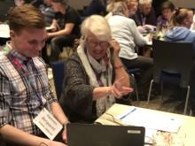 Fullsatt när Sunne och Telia lär äldre bli mer digitala