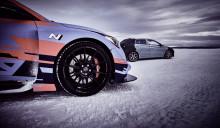 Film på nya Hyundai i20 N släppt från vintertest i Arjeplog