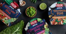 Blixtvisit till Asien med Felix Asia Bowls i klimatsmart förpackning
