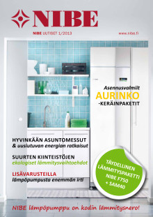 Nibe Uutiset 1 2013