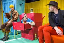 Premiär för Teater Västernorrlands LILL-ZLATAN OCH MORBROR RARING
