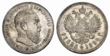 Ryska mynt attraktiva på auktion