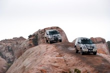 Ny Land Rover Defender testas i Afrika
