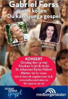 Du kan sjunga gospel med Sonja Aldén som gästartist