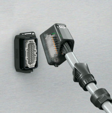Heavycon EVO – Plastic Plug-In Connectors with Adjustable Cable Glands