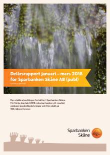 Delårsrapport kvartal 1 2018