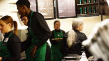 Starbucks första butik i Uppsala öppnar i dag