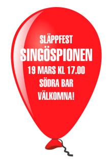 Släppfest för Singöspionen av Gustafson & Kant