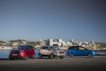 Fordin SUV-malleilla ennätysvuosi Euroopassa; EcoSport-, Kuga- ja Edge-mallien myynti kasvoi 21 prosenttia