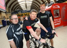 """""""Knights' quest"""" for Virgin Trains cycle fans"""