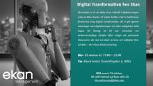 Event: Digital Transformation – vägen till långsiktig konkurrenskraft