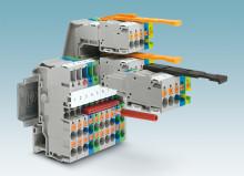 Grundplint för jackbar kontakt nu med Push-in anslutning upp till 4mm²
