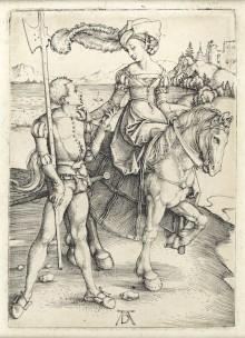 Pressvisning av Albrecht Dürer och den stora passionen