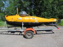 Unik enmansubåt från andra världskriget till salu