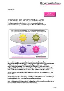 Information om bemanningsbranschen - large