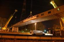 Den nya bron ett lyft för Sätra och Kungens kurva