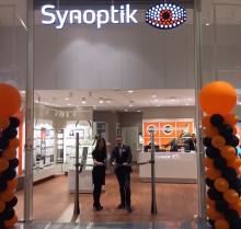 Synoptik öppnar ny butik i Halmstad  – inviger glasögoninsamling till Optiker utan gränser