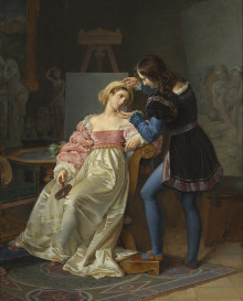 New acquisition: Painting by the French painter Coupin de la Couperie