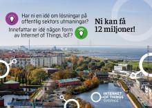 Kommuner kan få 12 miljoner till IoT-projekt