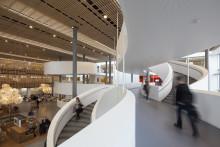 Dørene til fremtidens universitetsmiljø er åbnet på Københavns Universitet Amager - kig med indenfor