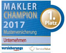 Makler-Champions 2017: Diese Versicherer bieten den höchsten Servicewert