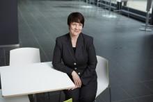 Kirsi Autiosalo ny verkställande direktör för Sparbankernas Centralbank Finland Abp
