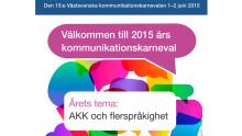 Se föreläsningarna från Kommunikationskarnevalen från Göteborg