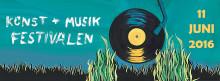 Konst & Musikfestivalen 2016 på Södermalm
