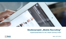 BITKOM-Studie Mobile Recruiting