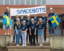 Sigma Technology Sponsors a FIRST LEGO League Team Presenting Space VR Solution