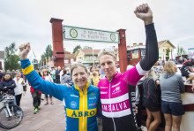 Jennie Stenerhag and Jonas Ahlstrand won Cykelvasan 2017