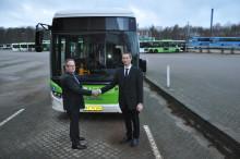 Nye Scania hybridbusser hjælper Odense til en grønnere profil