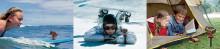 Ūdensizturīga sporta kamera ar 4K no Ricoh