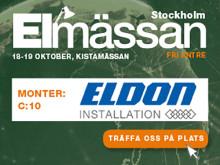 Prata elbilsladdning med oss på Elmässan i Kista 18-19 oktober!