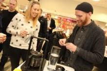 Världens bästa kaffebryggare lanserades på NK
