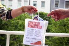 Hyresgästföreningen bjuder på frukost i Halmstad för allas rätt till ett bra hem