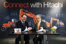 ABAX og Hitachi underskriver kæmpe international partnership aftale