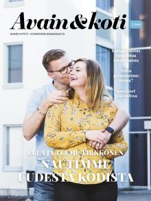 Avain & koti -lehti 2/2018 on ilmestynyt