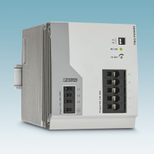 Robust power supply with 40 A for adverse ambient conditions