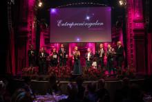 Sveriges entreprenörer samlades igår på Entreprenörsgalan 2018